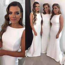 simple wedding dresses for brides best 25 white bridesmaid dresses ideas on casual