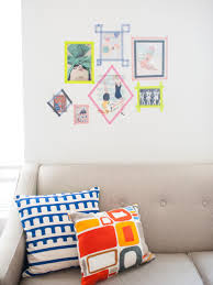Washi Tape Wall Designs by Jazz Up Your Walls With Some Of These 50 Diy Wall Decals