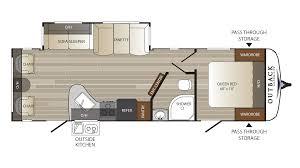 keystone floor plans new 2017 keystone rv hideout 298bhds fifth wheel at vermont