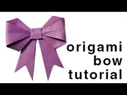 paper ribbon origami how to fold a paper bow ribbon paper kawaii