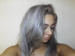 silver blonde color hair toner purple mane purple mane chrome