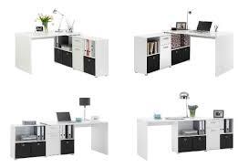 White Corner Workstation Desk White Corner Computer Desk Modern Home Design