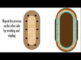 how to make a poker table how to build a poker table video make your own with diy plans
