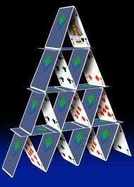 do you feel feel so paper thin like a house of cards one