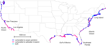 Map Of Mexico And South America by New Study Maps Rate Of New Orleans Sinking Nasa