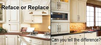reface or replace kitchen cabinets reface replace kitchen cabinets cabinet refacing cost to install