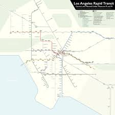 Los Angeles Metrolink Map by Unsolicited Proposals Could Jumpstart Measure M Rail Lines