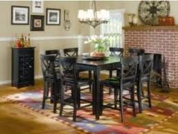 Mira Home Furnishings SONOMA Counter Height Dining Group With - Counter height dining table set butterfly leaf