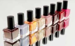 nail polish with acetone clothing