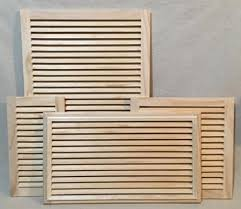 Cold Air Return Basement by Simple Wood Return Air Vents By Woodairgrille Com For When You Do