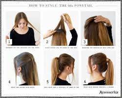 ponytails hairstyles for short hair short hairstyles ponytail
