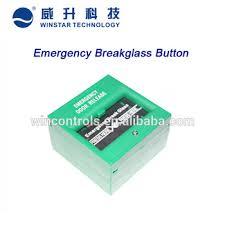 break glass door release fire alarm system emergency door release manual call point