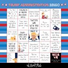 free thanksgiving bingo cards the trump administration bingo card u2013 the bold italic