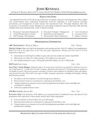 resume sample for chef best solutions of 20 job winning chef de