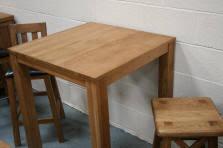 Oak Breakfast Bar Table Oak Bar Stools Kitchen Stools Oak Breakfast Bar Stools