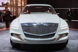 hyundai luxury suv hyundai genesis gv80 hydrogen suv photos business insider