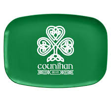personalized melamine platters st s day collection personalized melamine serving platter