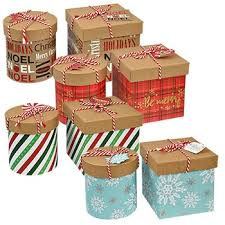 bulk square and gift boxes with twine at dollartree