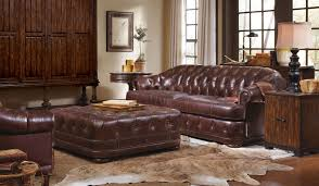 chesterfield sofa in living room kennedy walnut living room set w chesterfield sofa art furniture