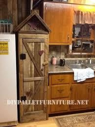 meuble garde manger cuisine armoire garde manger pour la cuisine faite avec des palettesmeuble