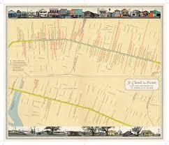 New Orleans City Map Mapping A Map The Evolution Of U201cunfathomable City U201d U2013 Via Nola Vie