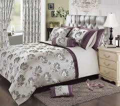 Black And White King Size Duvet Sets Bedding Appealing Plum Bedding Mauve Colour Stylish Floral