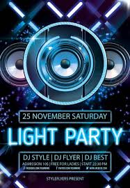 template for flyer free new party season free psd flyer templates graphicsfuel