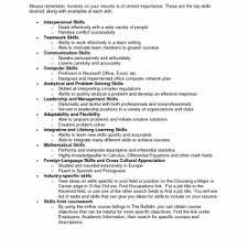cover letter skill examples for resume nursing skill examples for
