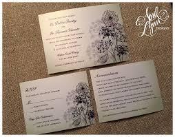 Winery Wedding Invitations Debbie Terry U0027s Wedding Invitation Suite April Lynn Designs