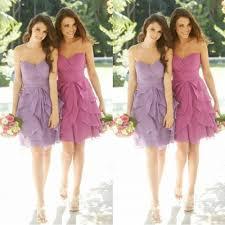 short lavender bridesmaid dresses vosoi com