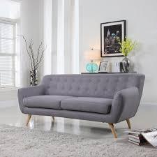 Mid Century Modern Style Sofa Mid Century Modern Style Sofa Seat Grey Yellow Blue