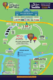 Forest Park Map Maps Parking And Transportation Great Forest Park Balloon Race