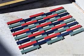 Doormat Leave Wooden Door Mat