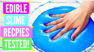 edible photos testing popular edible slime recipes how to make edible slime diy