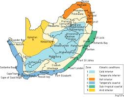africa map climate zones climatic zones of south africa energy analysis using archicad 16