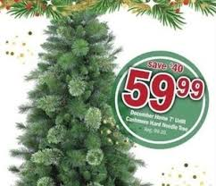 december home 7 unlit needle tree 59 99 at