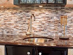 kitchen glass tile backsplash pictures subway metal countertops