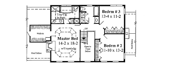 Colonial Open Floor Plans Classic Colonial House Plan 3723tm Architectural Designs