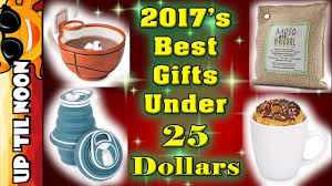 best gifts under 25 2017 u0027s best u0026 unique christmas gifts under 25 dollars youtube