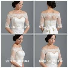 best off shoulder alencon lace bolero jacket illusion half sleeve