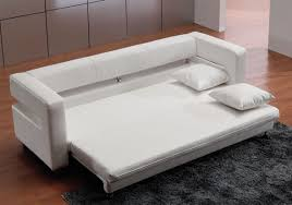 Modern White Leather Sofa Bed Sleeper Furniture Convertible Sofa Sleeper Walmart Black Sectional