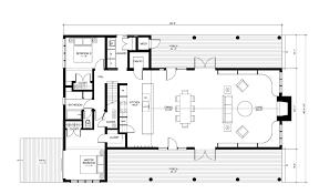 modern mountain cabin floor plans