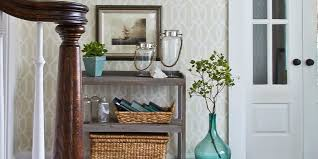 How To Decorate A Large Hallway 10 Ways To Fake An Entryway Entryway Decorating Tips