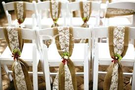 lace chair sashes burlap sashes for chairs fruitpower me