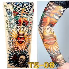 aliexpress com buy 1 pc tattoo sleeves w 08 styles elastic fake