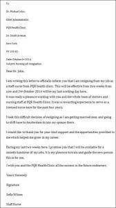resignation letter samples 0009 future ideas pinterest