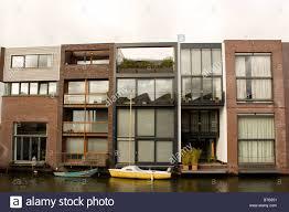 unique architecture in in scheepstimmermanstraat amsterdam row