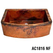 Copper Kitchen Decor by Ariellina Farmhouse 14 Gauge Copper Kitchen Sink Lifetime Warranty