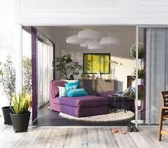 Living Room With Purple Sofa 15 Beautiful Ikea Living Room Ideas