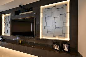 Modern Media Room Ideas - traditional media room entrancing media wall design home design